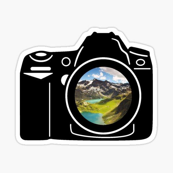 Mountain Camera Sticker