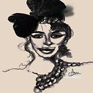 Mademoiselle de Paris by Gilberte