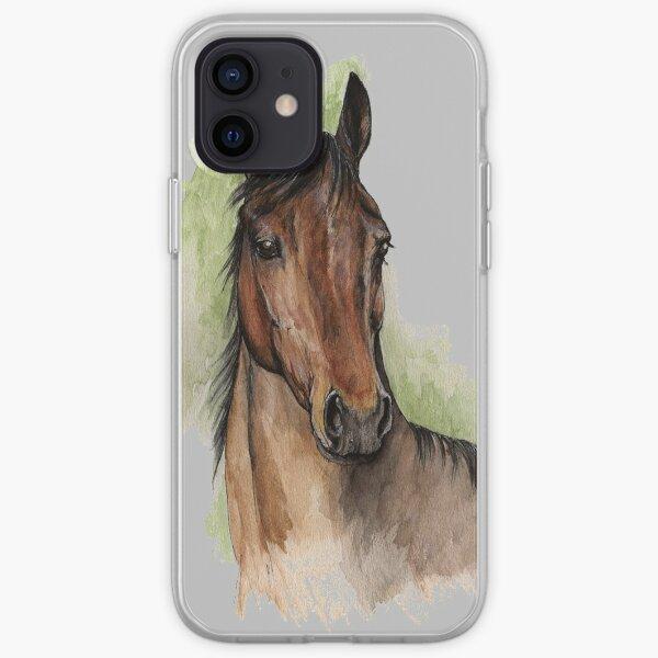 beautiful horse iPhone Soft Case