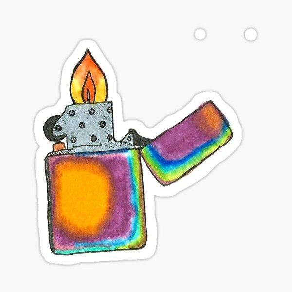 Lighter Sticker