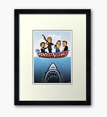 Fish Punch Framed Print