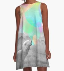 The Echoes of Silence A-Line Dress