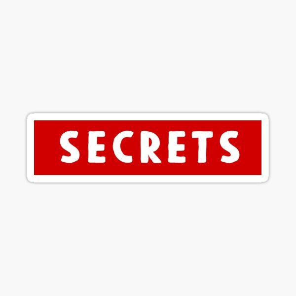 Secrets Sticker Sticker