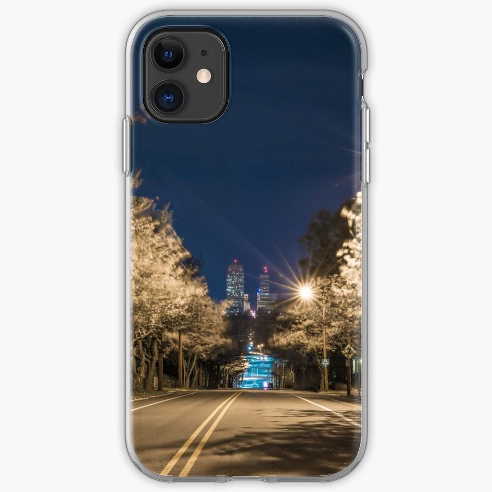 Silent Main Street Winston Salem  iPhone Case & Cover