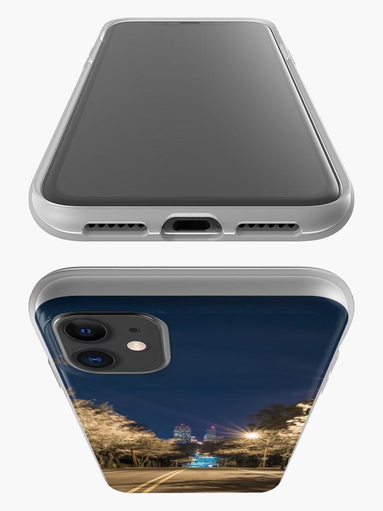 Alternate view of Silent Main Street Winston Salem  iPhone Case & Cover