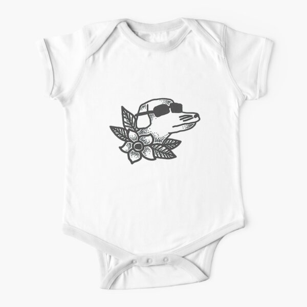 mobo Short Sleeve Baby One-Piece
