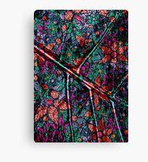 Vintage Trendy Floral Pattern Canvas Print