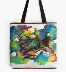 Front Moving In Tote Bag