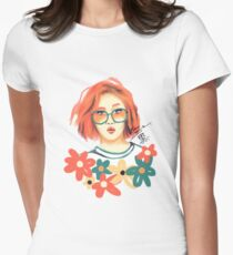 Hwasa Womens Fitted T-Shirt