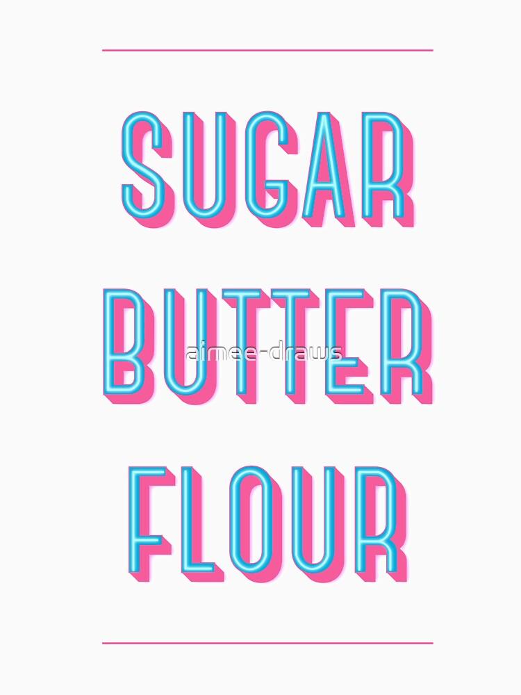 Zucker Buttermehl | Kellnerin von aimee-draws