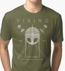 Viking Design Tri-blend T-Shirt
