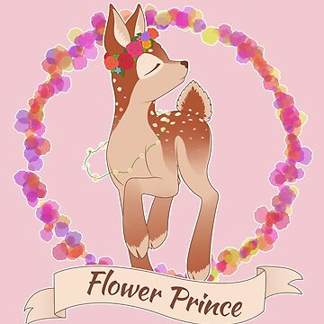 Flower Fawn by deliinthesky