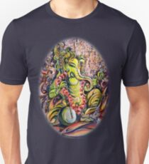Ganesha - Playing Tanpura T-Shirt