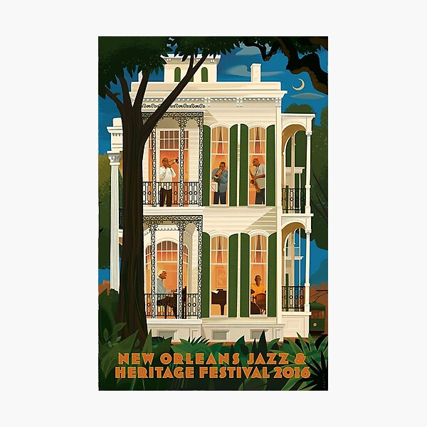 new orleans jazz and heritage festival 2016 Photographic Print