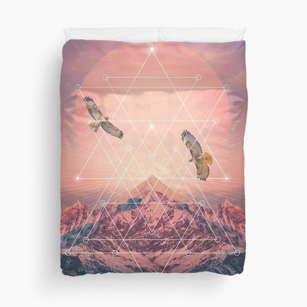 Find the Strength To Rise Up Duvet Cover