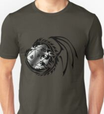 Dungeons and Dragons - Black and Silver! Unisex T-Shirt