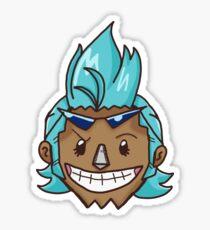 Franky - One Piece Sticker
