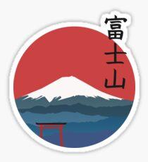 Fujiyama Sticker