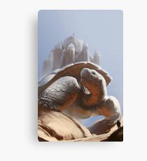Turtle Temple Canvas Print