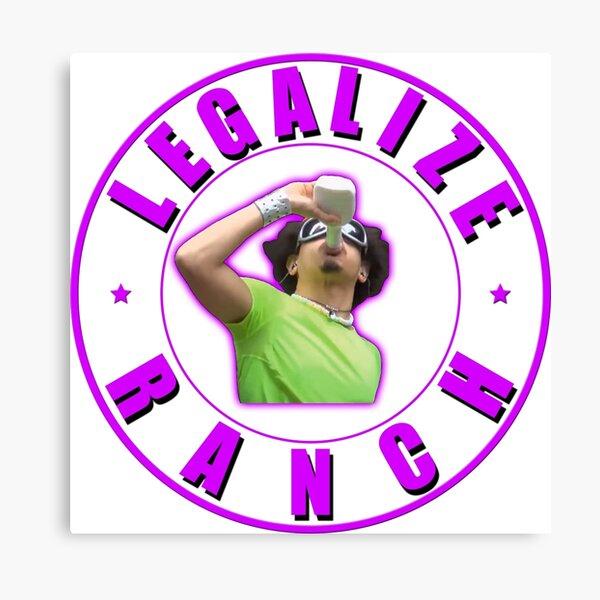 Legalize Ranch Version 2 Canvas Print