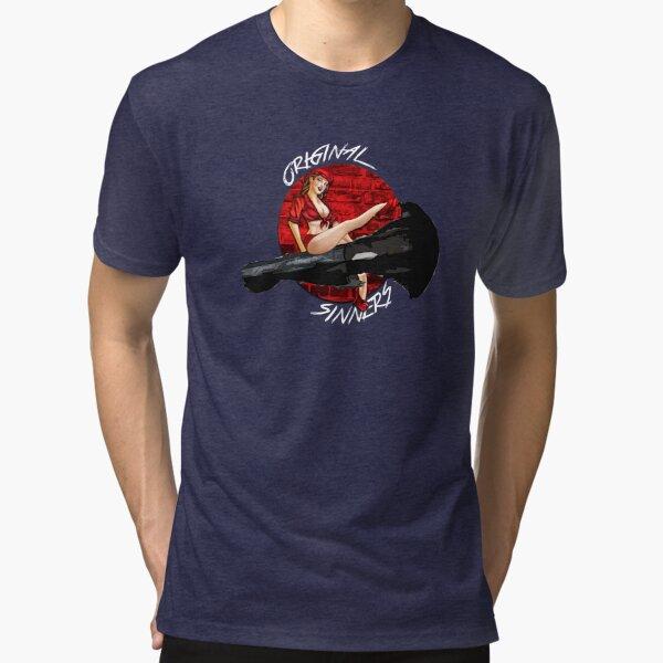 Eve Online - Original Sinners Corporation Logo Tri-blend T-Shirt