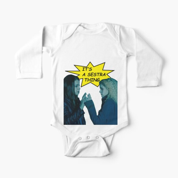 sestra thing Long Sleeve Baby One-Piece