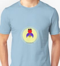 Covered in the light of a firefly Unisex T-Shirt