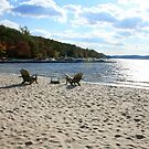 Relaxing on Little Beach by patti4glory