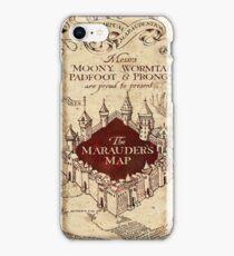 marauders brown iPhone Case/Skin