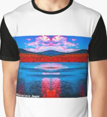 Zeus Over Cooper Lake Graphic T-Shirt