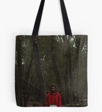 Red Teenage Melody Tote Bag