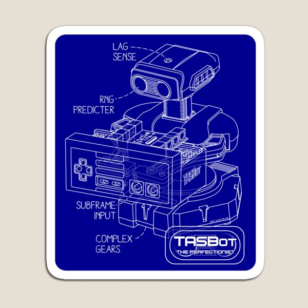 TASBot - the perfectionist Magnet