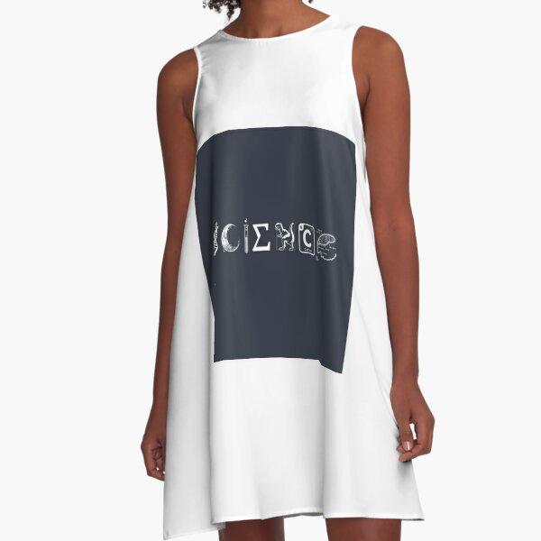 SCIENCE - Coexist A-Line Dress