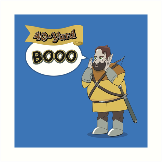 40-Yard Booo by makingDigital