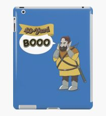 40-Yard Booo iPad Case/Skin