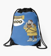40-Yard Booo Drawstring Bag