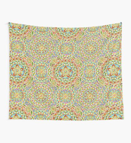 Rainbow Candy Trinket Wall Tapestry