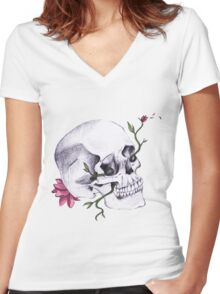 The Soul Remains Women's Fitted V-Neck T-Shirt