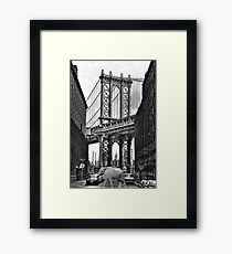 Dumbo in Dumbo Framed Print