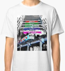Orange Line and Dime Classic T-Shirt