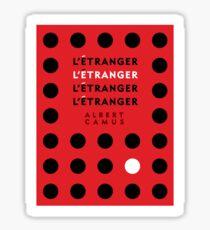 The Stranger by Albert Camus Sticker
