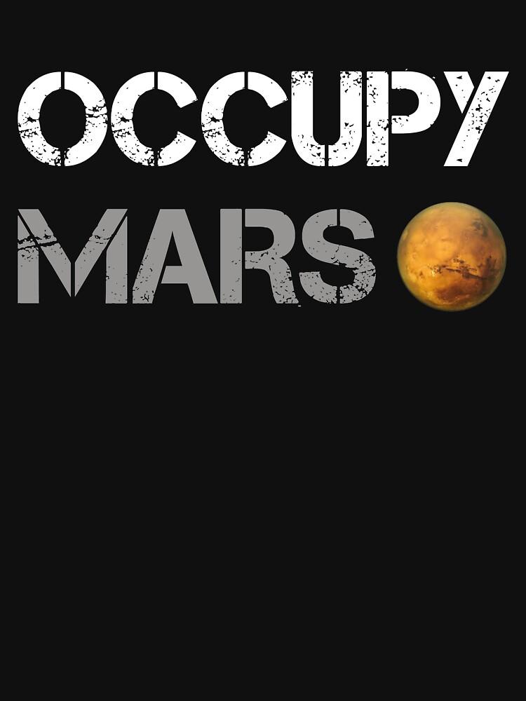 Occupy Mars Shirt | Unisex T-Shirt