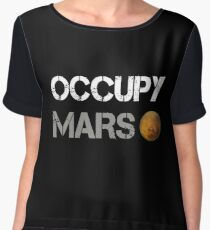 Occupy Mars Shirt Women's Chiffon Top