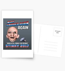 Vote STINKY for President of the United states Postcards