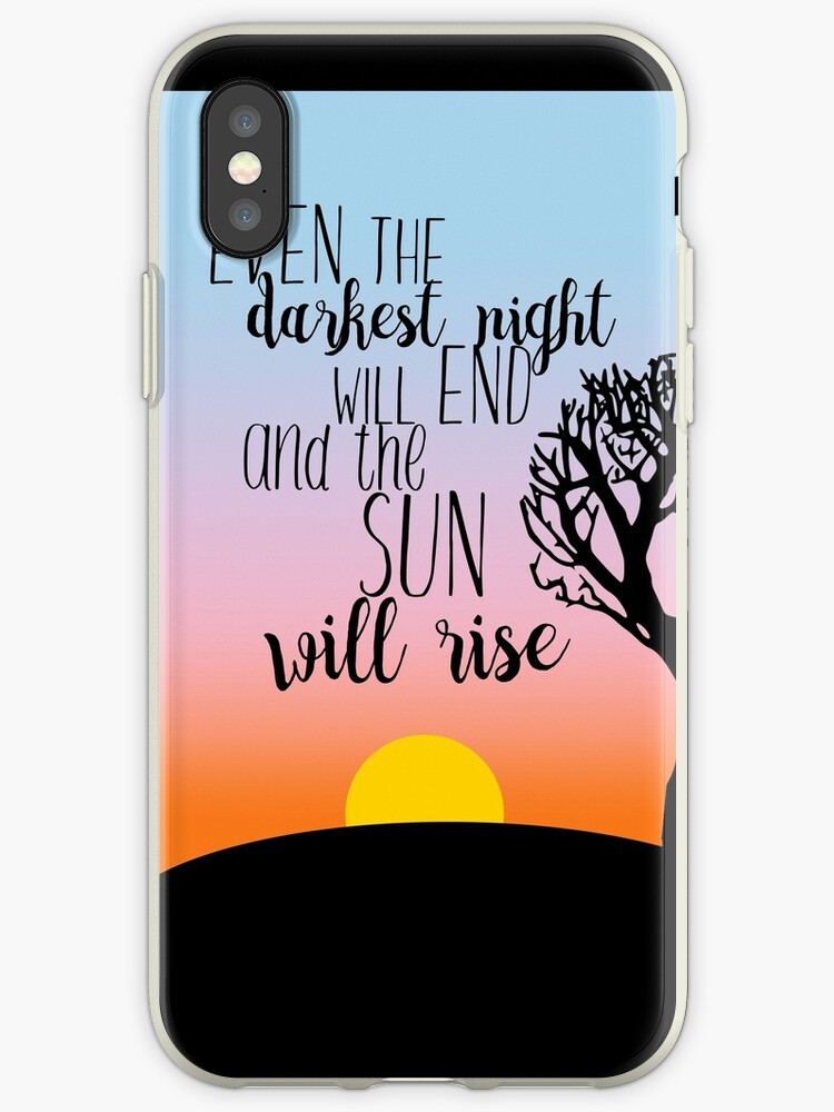 Les Miserables Sunrise Quote by SarahRoses