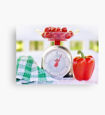Red Pepper Scale Canvas Print