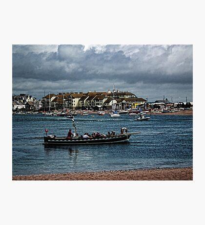 Shaldon Ferry Boat Photographic Print