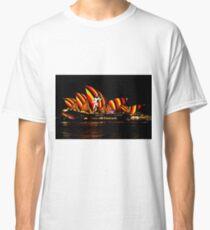 Sydney Vivid 15 Aboriginal Warrior Classic T-Shirt