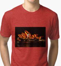 Sydney Vivid 15 Aboriginal Warrior Tri-blend T-Shirt
