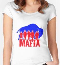 Bills Mafia Women's Fitted Scoop T-Shirt